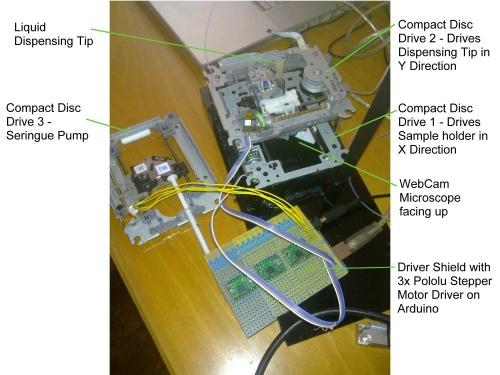 DIY Micro Dispensing and Bio Printing - Hackteria Wiki