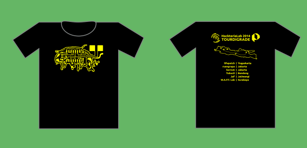 TOURDIGRADE t shirt with back 2014.png
